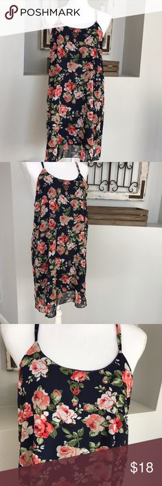 "Robin- K Floral Slip On Dress Robin K Floral Slip On Dress. Size Medium. Armpit- armpit 18"", total length of dress is 33"" long. Fabric: 100% polyester. Robin K Dresses Midi"