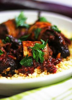 Low FODMAP & Gluten free Recipe -  Creole eggplant