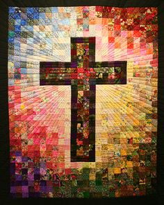 Cross Quilt at San Rafael's, via Flickr.