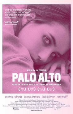 A great poster! Gia Coppola - Francis Ford Coppola's granddaughter - made the 2013 movie Palo Alto based on James Franco's short story collection. Ships fast. 11x17 inches. Need Poster Mounts..?
