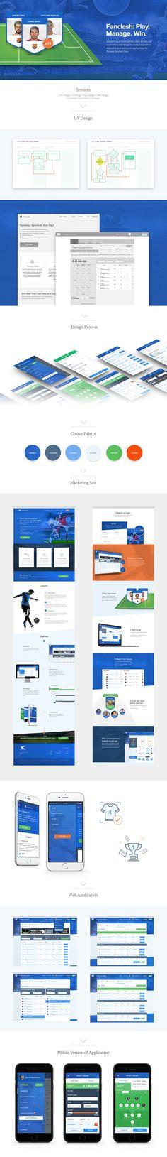 FanClash: UX, Website & Dashboard Design Case Study