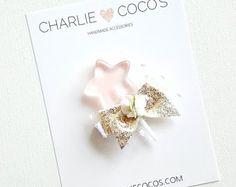 Baby/Girls Felt Hair Clip Felt Melon Baby Headband by CharlieCocos