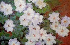 Clematis, 1897 by Claude Monet | Oil Painting Reproduction | ncArtCo.com