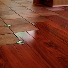 Floor transition - traditional - Spaces - Portland - Birdsmouth Construction, LLC