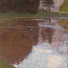 Gustav Klimt Tranquil Pond (Egelsee near Golling, Salzburg)