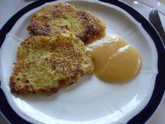 Rezept: Pikante Kartoffelpuffer