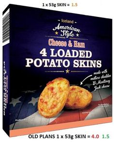 Joyce Iredale - Posting some foods that you can take into work for. Slimming Workd, Slimming World Syns, Slimming World Recipes, Iceland Slimming World, Loaded Potato Skins, Syn Free Food, Diet Recipes, Healthy Recipes, Diet Meals