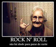 Rocker grandma!!