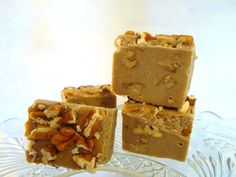 MAPLE PECAN Fudge ORGANIC the real deal Maple Syrup by PernillasSS, $11.00