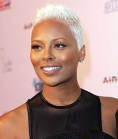10 African-Amierican Short Hairstyles for Women Short Sassy Hair, Short Grey Hair, Short Straight Hair, Short Hair Cuts, Pixie Cuts, Short Blonde Pixie, Yellow Hair Color, Hair Color For Black Hair, Gray Hair