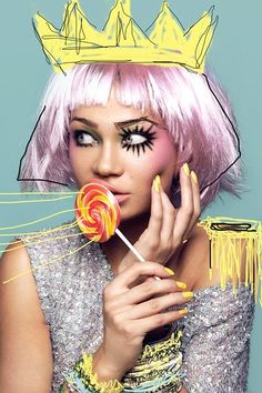 Candy Girl by Natalia Noir, via Behance