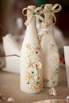 Deko aus alten Flaschen