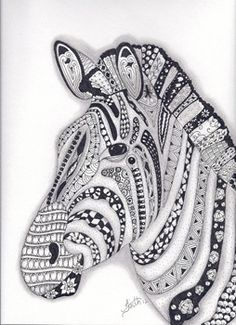 Make a house a home with stunning Zentangle posters from Zazzle. Tangle Doodle, Tangle Art, Doodles Zentangles, Zen Doodle, Doodle Art, Zentangle Drawings, Animal Coloring Pages, Colouring Pages, Adult Coloring