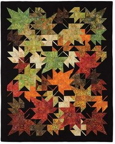 New Leaves Quilt Pattern | Keepsake Quilting