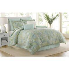 Soho New York Home Sea Glass 8-Piece Comforter Set - BedBathandBeyond.com