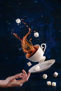 Stage magician coffee by Dina Belenko on 500px