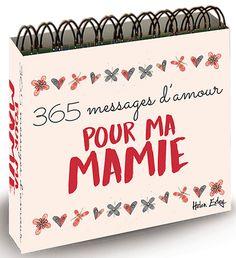 Nous avons trouvé des cadeaux qui donnent votre Grand-mère chaque jour un peu d'inspiration et de la tendresse: des calendriers avec des citations.  Visitez notre site pour plus d'informations! #citations #messages #mamie #cadeaumamie #fetedesgrandsmeres #cadeaugrandmere