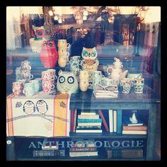 Anthropologie Owl Display - Fun!!