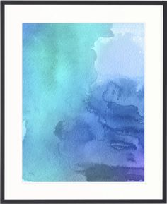 Framed Modern Tate Print | Watercolour Abstract III | The Block Shop - Channel 9