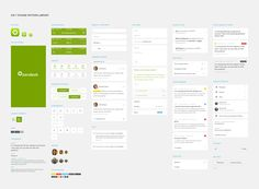 iPhone pattern library by Jonathan Belton for Zendesk Creative Department