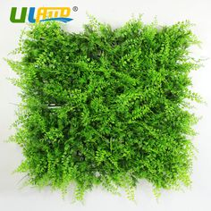 ULAND Plastic Ivy Plants Panel 1pc 25x25cm Artificial Boxwood Hedge Greenery Wall Cover DIY Garden Decoration UV Proof Mat Fence
