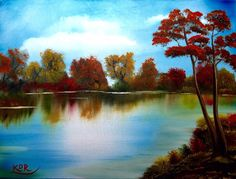 Created for the festival hosted by the Creative Arts Collaboration. This is a speed painting of a fall scene in Oil on canvas. Acrylic Painting Tutorials, Painting Videos, Speed Art, Paint Samples, Autumn Forest, Forest Landscape, Sea Waves, Learn To Paint, Creative Art