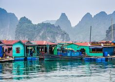 The floating fishing village