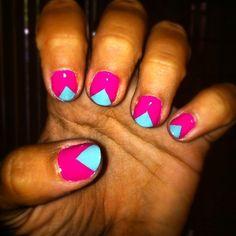 nail triangles