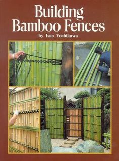 Discover thousands of images about Bamboo Fences Surprising Useful Ideas: Modern Fence bamboo fence in pots.Old Fence Decor. 10 Garden Fence Ideas to Make Your Green Space More Beautiful Looking for best bamboo fence and other fence ideas? 7 Simple and Ri Bamboo House, Bamboo Fence, Bamboo Fencing Ideas, Bamboo Ideas, Outdoor Projects, Garden Projects, Bamboo Construction, Bamboo Architecture, Bamboo Design