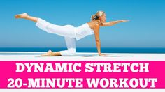 20-Minute Dynamic Stretch: Light Cardio Warm Up or Cool Down Stretching SUBSCRIBE TO OUR YOUTUBE CHANNEL FOR MORE FREE FULL LENGTH HOME WORKOUT VIDEOS!