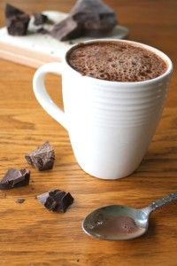 4 recipes for healthy, sugar free hot chocolate!