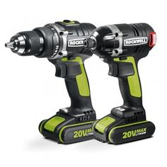 Rockwell Lithium-Ion Cordless Drill/Impact Driver Combo Kit - The Home Depot Cordless Power Drill, Cordless Drill Reviews, Speed Drills, Thing 1, Home Tools, Hammer Drill, Impact Wrench, Impact Driver, Drill Driver