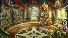 Christmas Theme Lobby - Master's Sanctuary | Dragon Blaze