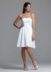 cotton sateen dress