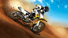 Suzuki Motocross Bike HD 1080p Wallpapers Download