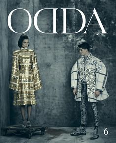 Arnaldo Anaya Lucca for ODDA magazine issue #6, featuring Thom Browne's Fall/Winter 2014/2015 men's and women's collections. Capture and retouching by Versatile Studios.