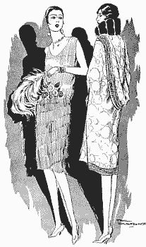 Evening Wear 1926 Gowns designed by Chez Germaine