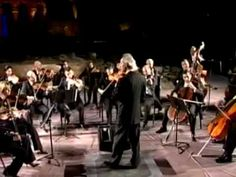 Aram Gharabekian conducts the National Chamber Orchestra of Armenia - the orchestral version of the Astor Piazzolla Libertango at the Zvartnots Monument-Complex Gala Concert in 2006 in Armenia.