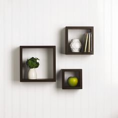 7 Luminous Clever Ideas: Floating Shelves Storage Home Office floating shelves diy vanity.Floating Shelf Under Tv Rustic industrial floating shelves fixer upper.Floating Shelf Under Tv Rustic. Square Floating Shelves, Reclaimed Wood Floating Shelves, Floating Shelves Bedroom, Floating Shelves Kitchen, Rustic Floating Shelves, Bedroom Shelves, Shelf Nightstand, Cube Shelving Unit, Cube Wall Shelf