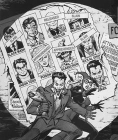 Gotham's Most Wanted by Tom Derenick