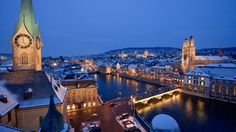 Zurich is the largest city of Switzerland, perfect place to visit and spend vacation with one's family. Book cheap business class tickets to Zurich Places To Travel, Places To See, Travel Destinations, Travel Stuff, Best Winter Vacations, Switzerland Tourism, Visit Switzerland, Marriott Hotels, Zurich