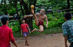 Games People Play Around the World Photo Games, Buddhist Monk, The Allure, Kicks, Around The Worlds, Yangon, Dance, Digital, Simple