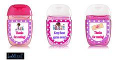 Doc McStuffins inspired Hand Sanitizer labels por JadeMarieMnD