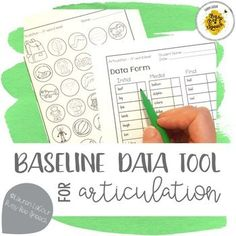 I created this product to help gather some quick baseline data from my articulation students at the beginning of the school year. These half-sheets are super easy to use. Just print, cut, and start taking data! This packet includes initial, medial, and fi