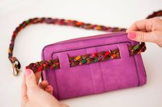 how to make fanny pack | clutch turned to a fanny pack | DIY Accessories