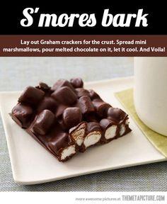 Delicious mini marshmallows…
