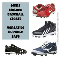 Mens Molded Baseball Cleats #baseball #sports Click to learn more.