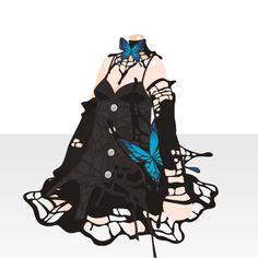 @trade | 小悪魔のゴシックドレス(PL)