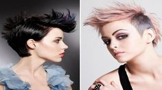 Super short hair pixie cut buzzed women - EXTREEM pixie haircut buzzed w...