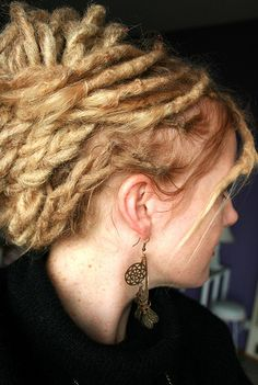 Dreadlock Updo <3